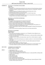 Financial Accounting Resume Samples | Velvet Jobs