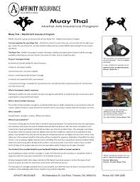 club insurance program muay thai ontario affinity insurance saving as much as 500 on your annual premium please contact affinity insurance at 647 493 2490 or by email for more information