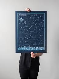 Northern Hemisphere Star Chart Wish List Star Chart