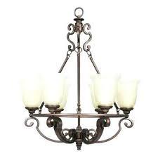 6 light bronze chandelier 6 light heritage bronze chandelier with glass shades sfera 6 light autumn