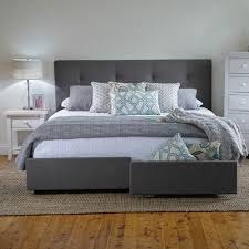 Georgia King Bed Frame with Storage Drawers - Products - 1825 ...