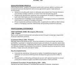 Resume Examples For A Bank Teller Position Sample Job