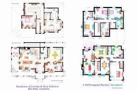 simpsons house floor plan floor plan for the simpsons house