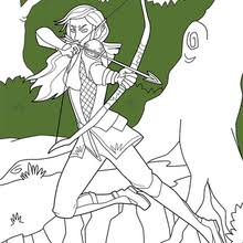 Fantasy Coloring Pages Hellokidscom