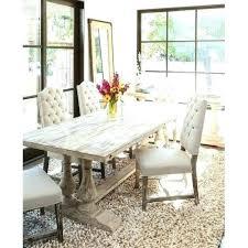 how to distress farmhouse table white distressed kitchen diy round oak dining