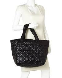 Nila anthony Black Quilted Nylon Travel Tote in Black | Lyst & Gallery Adamdwight.com