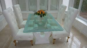 Glass Dining Room Furniture Awesome Design Ideas