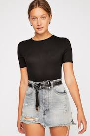 Free People Skirt Size Chart Oneteaspoon Vanguard Mid Rise Relaxed Skirt Free People In