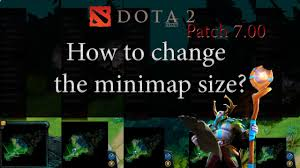 dota 2 how to change the minimap size youtube