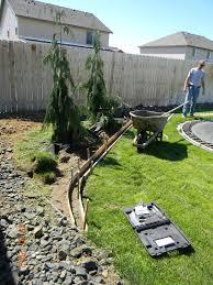 diy landscaping curb