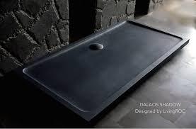 close 1800 x 900 extra large black granite stone shower tray