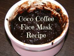 cocoa and coffee mask