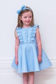 Light Blue Ruffle Dress Baby Blue Ruffle Skater Dress