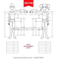 Measurement Chart Body Body Measurement Chart Template Metabots Co