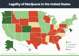 which states have decriminalized weed