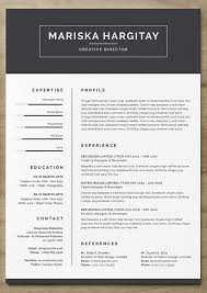 Creative Resume Templates For Microsoft Word Amazing 28 Free Resume Templates To Help You Land The Job