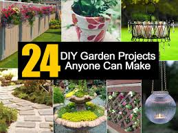 Diy Outdoor Projects 24 Diy Garden Projects Anyone Can Make
