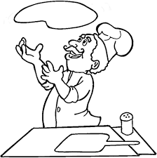 Small Picture Italian is cooking pizza coloring page Free Printable Coloring Pages