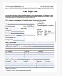 Travel Forms Template Rome Fontanacountryinn Com