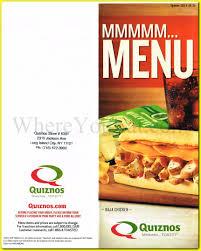 Quiznos Sandwiches Restaurant In Long Island City Queens