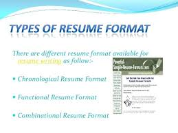 Different Types Of Resume Format Free Download Different Types Of Resume Formats Interesting Idea Types Of Resume