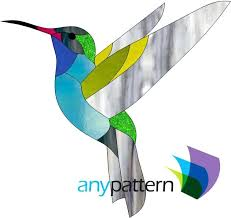 hummingbird stained glass patterns pattern lamp