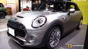 blue mini cooper convertible 2015. 2016 mini cooper s convertible exterior and interior walkaround 2015 tokyo motor show youtube blue