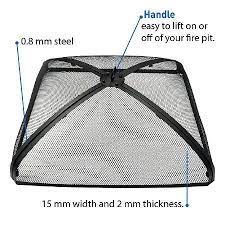 Best Fire Pit Screen Keep The Embers At Bay Outsidemodern