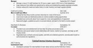 Emt Resume Templates Free Resume