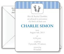 Printed Birth Announcement 3 5x4 Birth Announcement Magnet With Free Printed Envelopes Layout