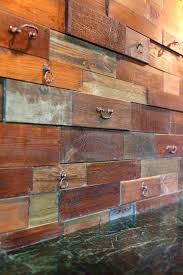 rustic wall covering ideas image of for living room dining interior post