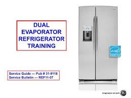 Ge 09 12 Dual Evaporator Refrigerator Msaworld Com