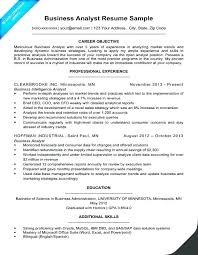Senior Financial Analyst Resume Sample Sample Resume For Sr Financial Analyst Program Example Entr
