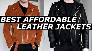 best affordable leather jacket high end alternative budget new brand l a c 2017 gallucks