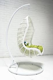 basket hanging chair rattan hanging chair white snow