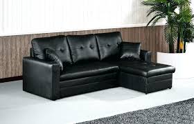 sofa pull out bed leather couch with pull out bed 2 black leather sectional with storage