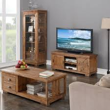 Living Room Furniture Oak Hutchar Wooden Living Room Furniture