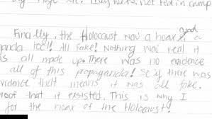 essay holocaust essay