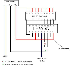 diy air fuel ratio meter oxygen sensor testing at Oxygen Sensor Schematic