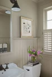Amazing Design For Bathroom With Wainscoting I #9575