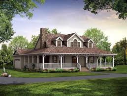 one story house plans with porch. One Story Country House Plans Wrap Around Porch Round Designs Nice 1-story Single Small With G