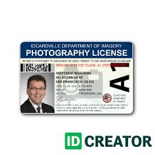 Station Templates Id Government - Template Card Photographer