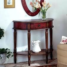 red entry table round foyer table with drawers discover types of foyer tables for accents and