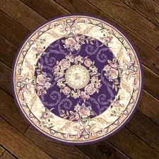 round rug with purple rug round purple flowers boxed dark purple rug runner