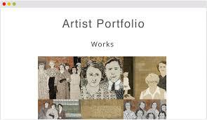 art portfolio template artist portfolio template rome fontanacountryinn com