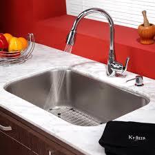 Kraus Kbu14kpf2230ksd30ch 31 12 Inch Undermount Single Bowl Kitchen