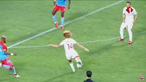 ملخص مباراة تونس و الكونغو الديمقراطية 1-0 , مباراة ودية - YouTube