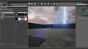 Unreal Engine Build Lighting Creating Rain And Lightning Effects In Unreal Engine