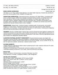 Writing A Federal Resume Federal Resume Example From Awesome Sample Classy How To Write A Federal Resume