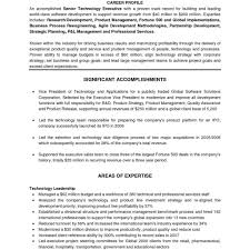 Executive Resume Formats And Examples Executive Resume Format Template Fred Resumes 19